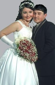 Casamento do meu sobrinho Fabrício em João Monelvade/MG.