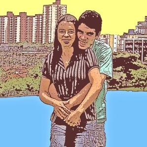 Juninho e Iula em Goiânia